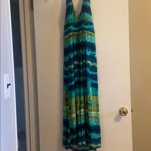 Bissou Bissou colorful maxi dress